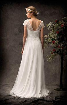 Découvrez la robe de mariée Gauguin, une création Lambert.