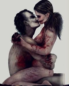 The Joker and Harley Quinn. This version of Harley is awesome. Comic Books Art, Comic Art, Comic Pics, Harley Quinn Et Le Joker, Dc Comics, Hq Dc, Le Clown, Creation Art, Drawn Art