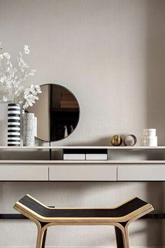 Townhouse Interior, Dressing Table Design, Master Bedroom Design, Interior Design Inspiration, Modern Interior, Decoration, Architecture, Furniture Design, Home Decor