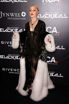 White Raven: Brooke Candy Opulence Red Carpet Looks