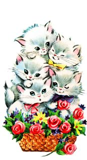 38 new Ideas vintage cards animals white kittens Vintage Birthday Cards, Vintage Greeting Cards, Vintage Christmas Cards, Vintage Valentines, Vintage Holiday, Vintage Postcards, Christmas Greetings, Vintage Cat, Vintage Paper