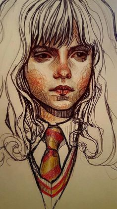 ArtStation - Doodles/traditional Portraits 2.0, Rebeca Puebla