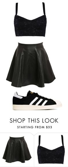 """All Black :)"" by infinitee-vibez on Polyvore featuring Pilot, Dolce&Gabbana and adidas Originals"