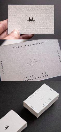 tarjetas de presentacion minimalistas dos caras