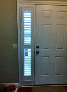 Cellular Shades - Sidelights | Sidelight windows, Front ...