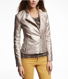 (MINUS THE) LEATHER BIKER JACKET | Express