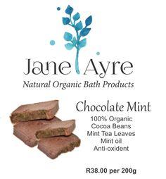 Chocolate & Mint 100% Organic Soap
