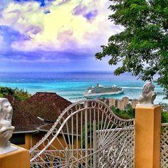 Navigator of the Seas in Jamaica.