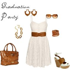 Graduation Party, created by chelsea-brennan on Polyvore