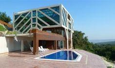 Concrete Tree House-Green Home Design by Ignatov Architects Bulgaria