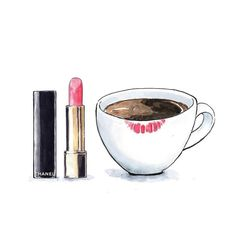 18 Ideas Pop Art Makeup Illustration For 2019 Home Bild, Farmasi Cosmetics, Pop Art Background, Pop Art Makeup, Makeup Drawing, Makeup Illustration, Japanese Illustration, Makeup Quotes, Coffee Love