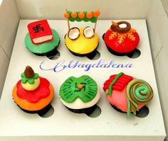 Diwali cupcakes with yummy Ganache filling