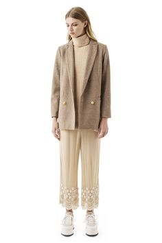 Hawthorne Wool Jacket, Praline Melange