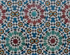 GlamJam-The Fashion Atlas in Morocco.   Fes' mosaics // Patterns' inspiration  www.glamjam.co