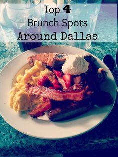 Top 4 Brunch Spots Around Dallas