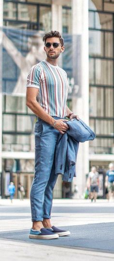 Mens fashion, mens spring fashion, fashion, fashion for fall, discountedsunglas. Neue Outfits, Komplette Outfits, Mode Masculine, Masculine Style, Men Looks, Style Casual, Men Casual, Smart Casual, Casual Styles