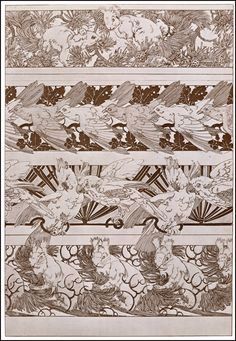 Alphonse Mucha | Documents Decoratifs - 1901.