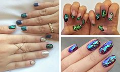 31 Jaw-Dropping Broken-Glass Nail Designs | Page 3 of 3 | StayGlam