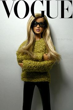 Vogue cover Barbie More