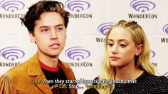 BLUE&GOLD — betty-and-jughead:   Cole summing up how Betty &...