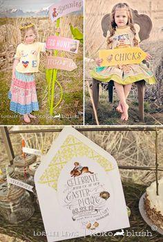Bohemian Spring Picnic Party via Karas Party Ideas KarasPartyIdeas.com
