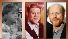 """RON HOWARD starred as """"OPIE"""" in the Andy Griffith Show…. now he is a FABULOUS movie director + film producer Happy 60th Birthday Ron!!! March 1, 2014 <3 ;)*"""