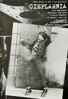 """Plakat filmowy do amerykańskiego filmu """"Cieplarnia"""". Reżyseria: Tom Gries. Projekt: plakat niesygnowany, lata 1970-te."""