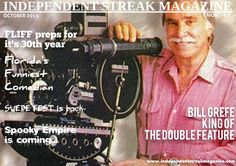 Independent Streak Magazine -- October 2015  Read about indie filmmaker Bill Grefe, find out about Florida's Funniest Comedian, learn about where the new SwedeFest will be located, get inspired by Talina Adamo, know about the new look and upcoming events of the Ft. Lauderdale Intl. Film Fest & more.