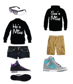 """Outfit for Disney world with your bf/GF"" by xmiafashionx ❤ liked on Polyvore featuring YMI Jeans, adidas, claire's and like please disney love follow icons request onedirection justinbieber selenagomez loner"