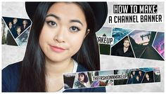 DIY ♡ How To Make A Geometric Channel Banner/Channel Art Tutorial!