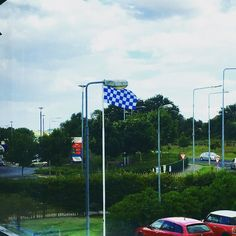 Our Déise flag is flying high today! Roll on next Saturday #LifeAtWLR #Waterford #WatvKil #WeLovesOurCounty