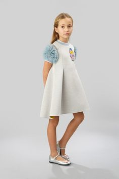 Shop for Fendi baby fashion collections on the official online store. Baby Girl Fashion, Toddler Fashion, Kids Fashion, Cool Kids Clothes, Cute Outfits For Kids, Vestidos Sport, Kids Wardrobe, Stylish Kids, Little Girl Dresses