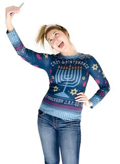 Faux Real offers some of the funniest Ugly Christmas Sweaters on the market, plus, they're super comfortable! Ugly Hanukkah Sweater, Ugly Christmas Sweater, Black Friday Specials, Costume Accessories, Clothing Accessories, Best Brand, Being Ugly, Nordstrom, Costumes