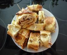 Rezept Käse Schinken Pfannkuchen nach FINESSEN 3/12 Rezept des Tages vom 16.01.2014 von bininanny - Rezept der Kategorie Vorspeisen/Salate