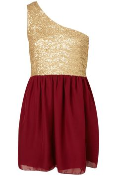 perfect holiday dress from topshop