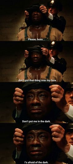 I Cried Like A Little Girl                 I AM a girl and bawled like a baby!!!   NOW he's gone for real....SO MISS Michael Duncan..