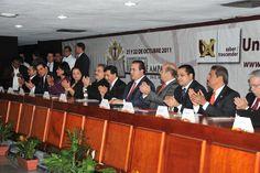 Duarte de Ochoa inauguró el Congreso Nacional Reforma al Juicio de Amparo en el Siglo XXI, organizado por la Universidad de Xalapa.