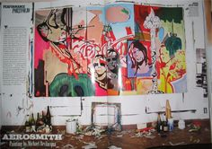 Michael Bevilacqua / Aerosmith painting