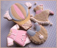 Baby shower cookies   By Evelindecora    http://blog.giallozafferano.it/evelindecora/