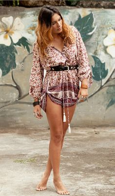 Spell Designs: Berry Gypsy Love Playsuit