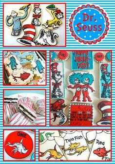 Dr Seuss Party - Cookie Ideas