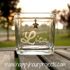 Personalized Candle Holder/Accent Jar - Happy Hour Projects