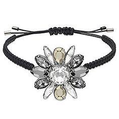 Swarovski by Shourouk Black Bracelet