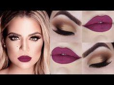 Khloe Kardashian - Maquiagem Diva para Iniciantes - Makeup Tutorial - YouTube