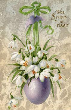 Vintage Easter Postcard by karly b, via Flickr