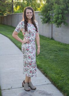 Hailey Dress- Floral Boutique: EDYN Clothing