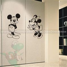 Matter Home Decor Mickey Mouse Decorative Wall Sticker - DinoDirect.com