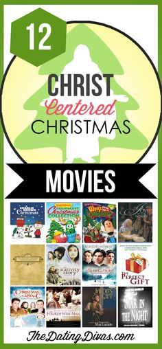 Christ-Centered Christmas Movies- to help the kids remember what Christmas is really about!  TheDatingDivas.com