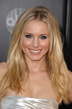 kristen bell... She's adorable and seems awesome to hang out with!