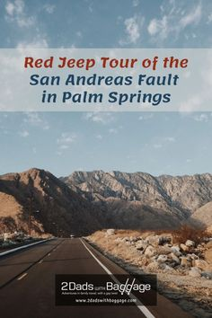 Red Jeep Tour of the San Andreas Fault in Palm Springs Best Vacations, Vacation Trips, Travel With Kids, Family Travel, San Andreas Fault, Red Jeep, Best Places To Travel, Wanderlust Travel, Travel Around The World